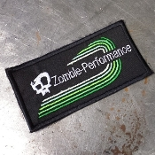 Zombie Performance Retro Logo Patch
