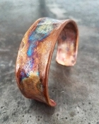 Handmade Large Copper bracelet No.1