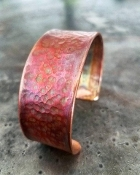 Handmade Large Copper Bracelet No.3