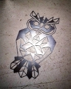 Steel Wall Art (OWL)