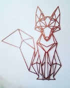 Steel Wall Art (FOX)